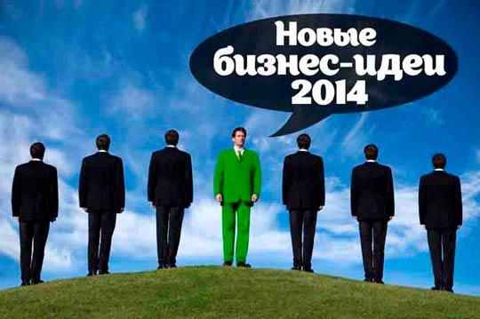 Новые бизнес идеи 2014, актуальные бизнес идеи на 2014 год