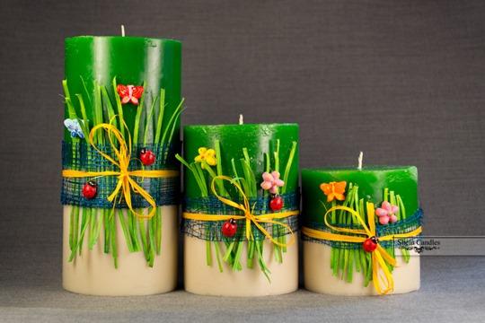 Свечи изготовление своими руками