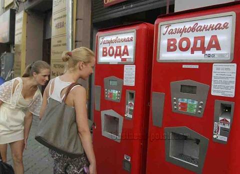 Аппарат с газировкой - вендинговые автоматы