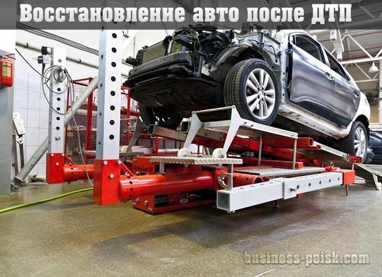 Восстановление авто после ДТП, автомобили после ДТП
