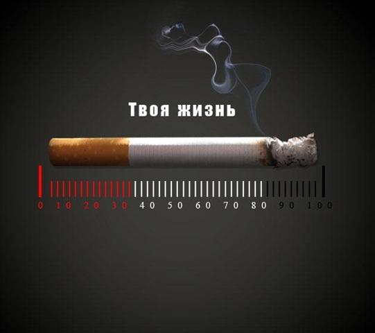 Социальная реклама - курение убивает