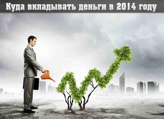Куда вкладывать деньги в 2014 году