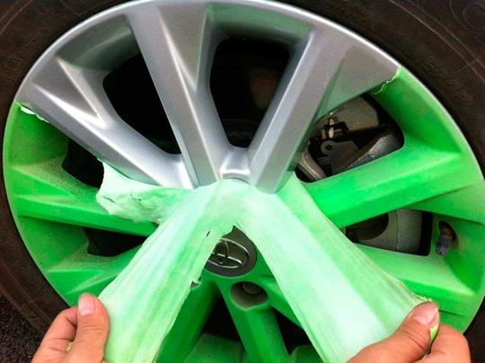 Покраска дисков жидкой резиной