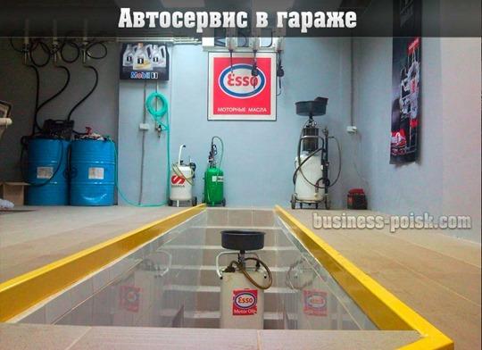 Какой бизнес можно открыть в гараже - автосервис в своем гараже