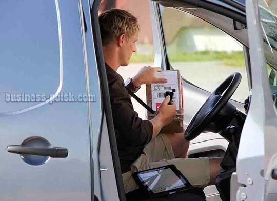 Курьерская служба доставки на авто