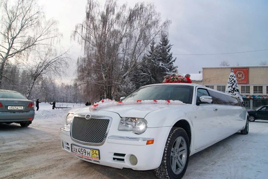Прокат машин на свадьбу - выбор авто