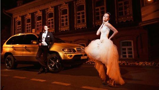 Прокат машин на свадьбу - секреты бизнеса