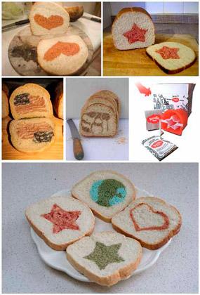 Интересные и креативные бизнес-идеи из Америки: хлеб с рисунком на срезе
