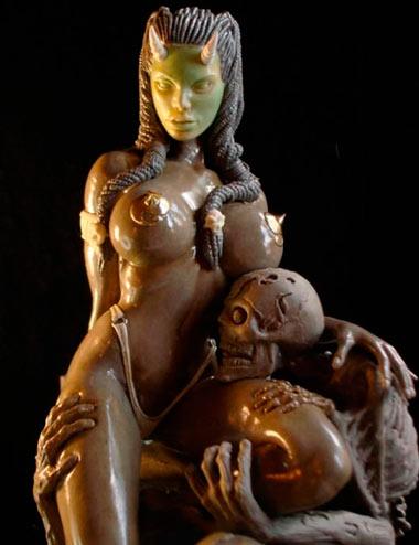 Скульптуры из пластилина: пластилиновая композиция