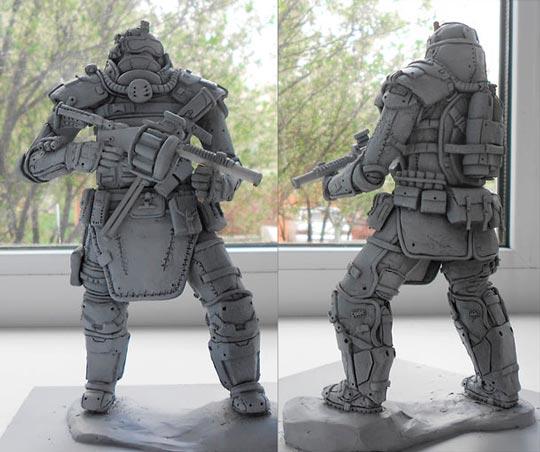 Скульптуры из пластилина: увлечение и заработок