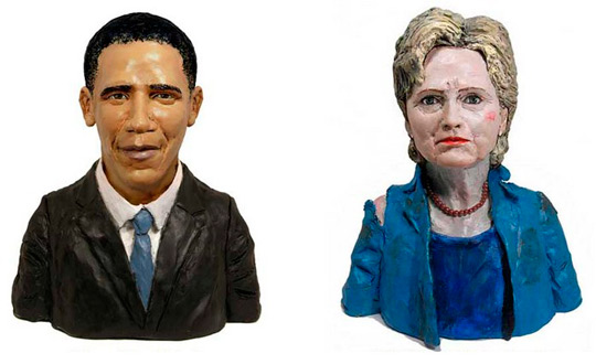Скульптуры из пластилина: пластилиновые бюсты