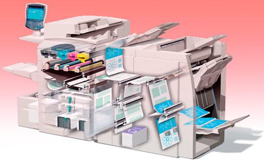 Изготовление листовок: оборудование для печати
