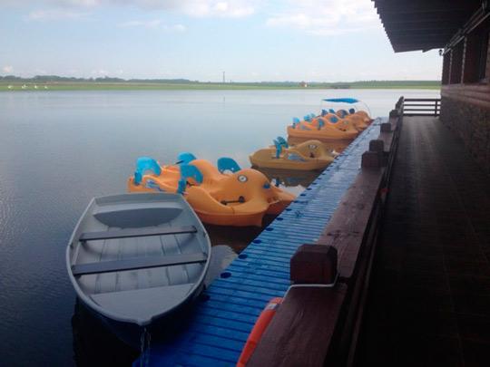 катание на лодках в санаториях