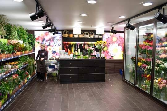 Дизайн цветочного магазина фото