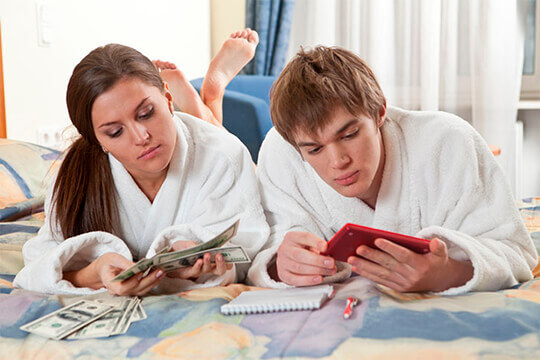 Разделение семейного дохода как способ накопления