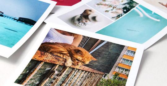 Печать фотографий в Инстаграм