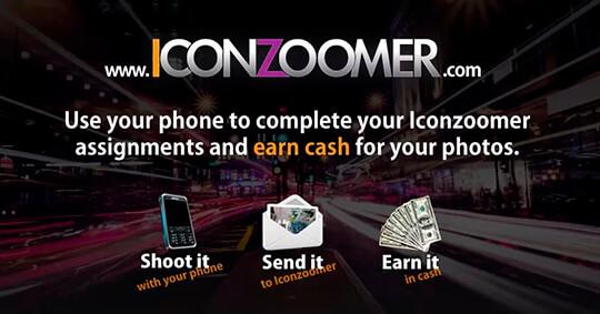 Мобильный заработок на приложении IconZoomer