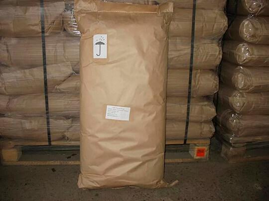 Упаковка древесной муки