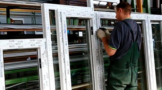 Производство пластиковых окон в гараже
