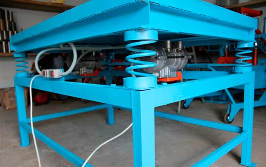 Производство тротуарной плитки в гараже