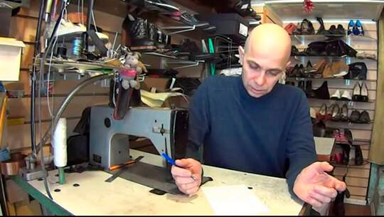 Мастерская по ремонту обуви в гараже