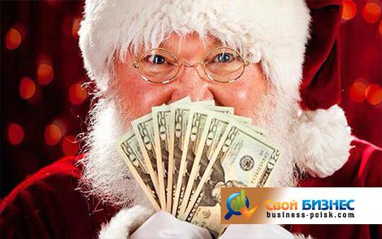 Как можно заработать деньги на новый год цены