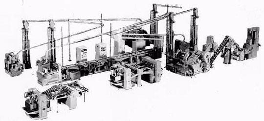 Автоматическая линия для производства алюминиевых банок