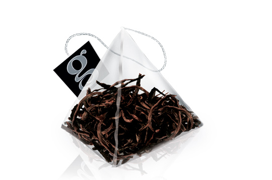 Ломаные листья для чая в пакетиках
