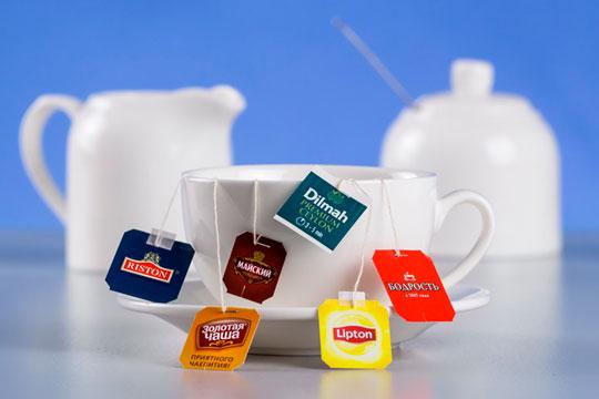 Реклама чая в пакетиках