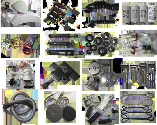 Запасные части для ремонта бытовой техники